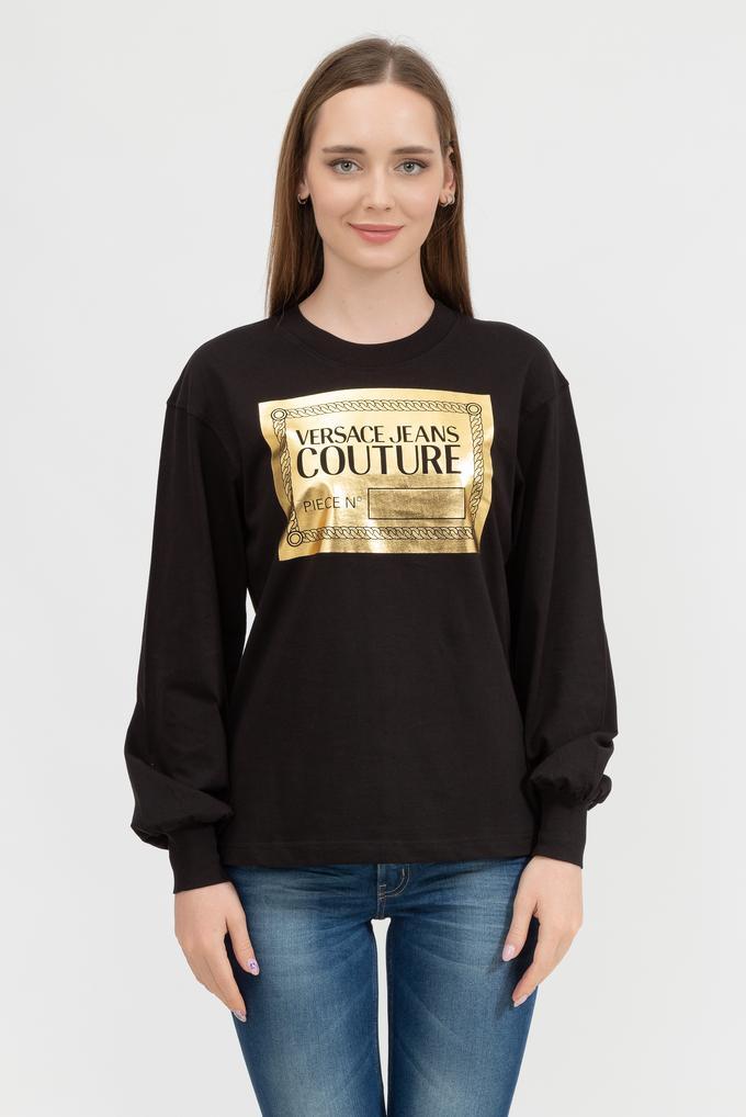 Versace Jeans Couture Kadın Uzun Kollu T-Shirt