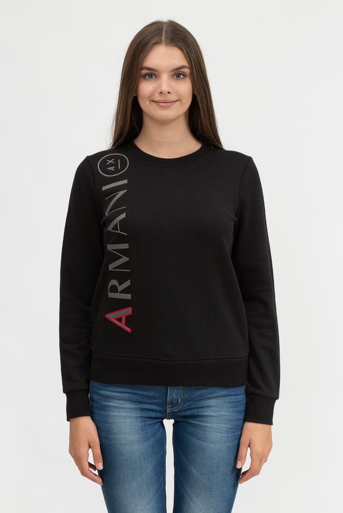 Armani Exchange Kadın Bisiklet Yaka Sweatshirt