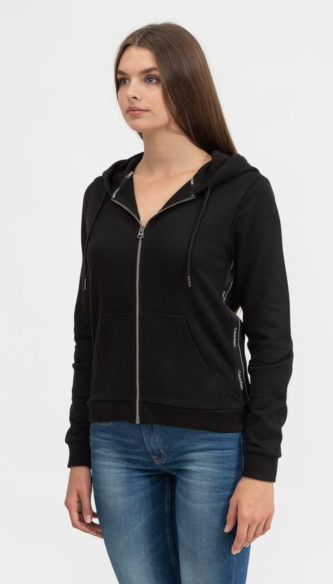Calvin Klein Kadın Fermuarlı Sweatshirt