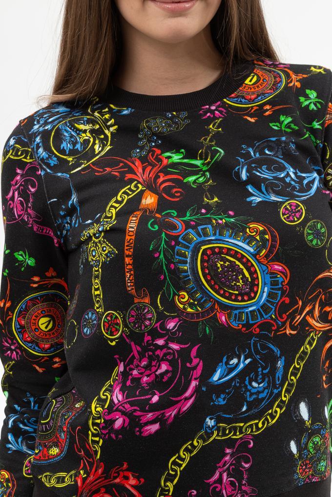 Versace Jeans Couture Kadın Bisiklet Yaka Sweatshirt