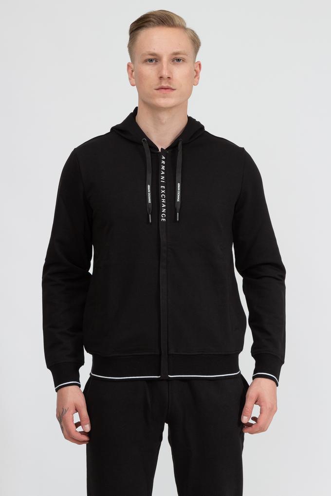 Armani Exchange Erkek Fermuarlı Sweatshirt