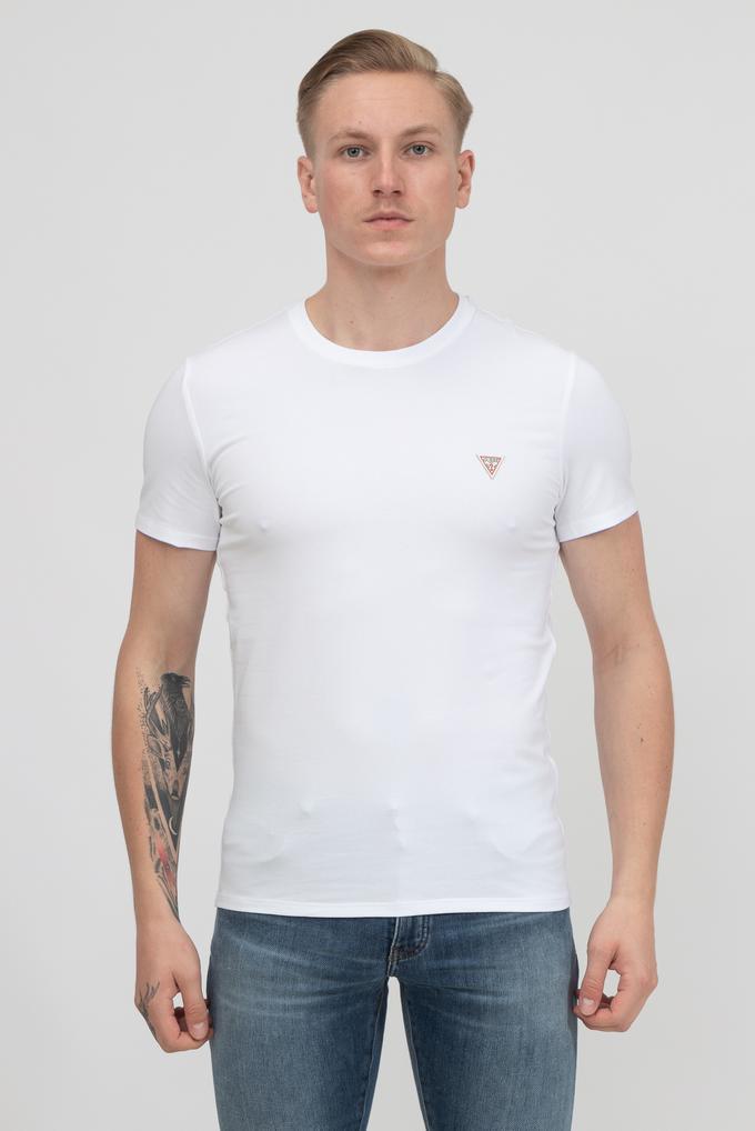 Guess Erkek Bisiklet Yaka T-Shirt