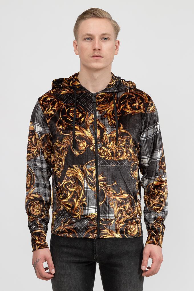 Versace Jeans Couture Erkek Fermuarlı Sweatshirt
