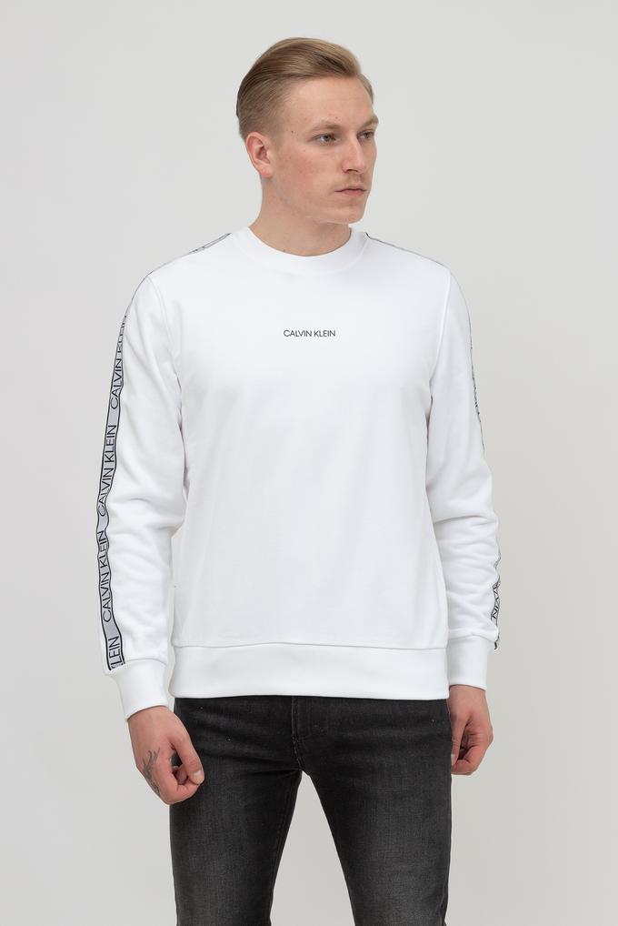 Calvin Klein Erkek Bisiklet Yaka Sweatshirt