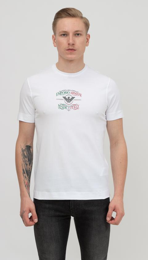 Emporio Armani Erkek Bisiklet Yaka T-Shirt